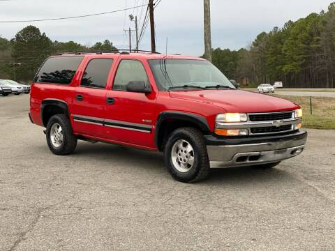 2000 Chevrolet Suburban for sale at CVC AUTO SALES in Durham NC