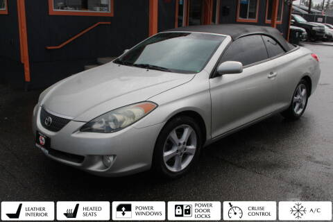 2006 Toyota Camry Solara for sale at Sabeti Motors in Tacoma WA