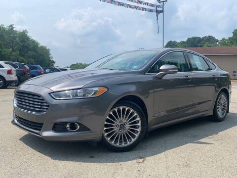 2014 Ford Fusion for sale at Elite Motors in Uniontown PA