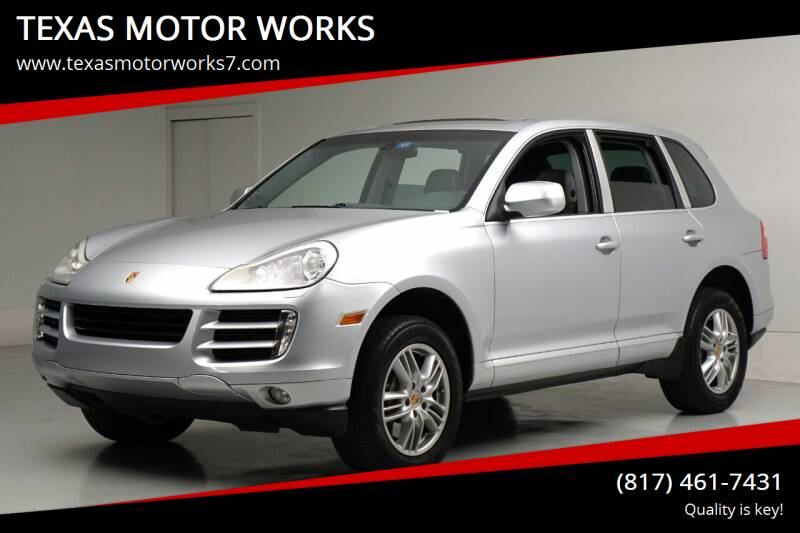 2008 Porsche Cayenne for sale at TEXAS MOTOR WORKS in Arlington TX