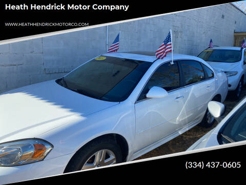2013 Chevrolet Impala for sale at Heath Hendrick Motor Company in Greenville AL
