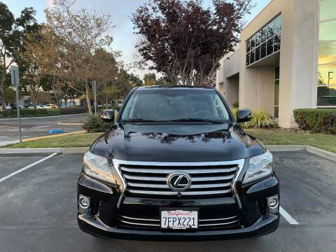 2014 Lexus LX 570 for sale at Hi5 Auto in Fremont CA