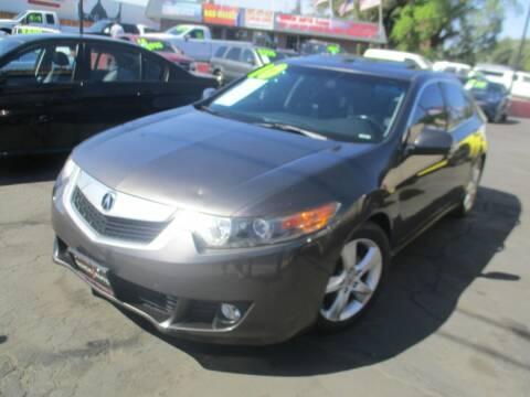2010 Acura TSX for sale at Quick Auto Sales in Modesto CA