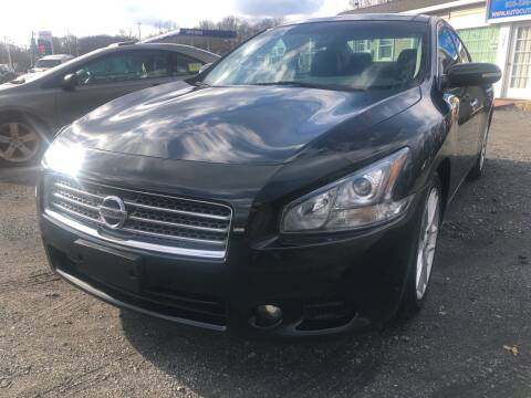 2010 Nissan Maxima for sale at AUTO OUTLET in Taunton MA