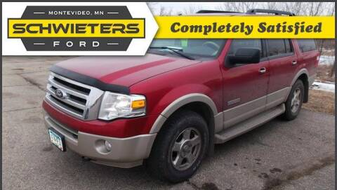 2008 Ford Expedition for sale at Schwieters Ford of Montevideo in Montevideo MN