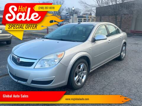 2008 Saturn Aura for sale at Global Auto Sales in Hazel Park MI