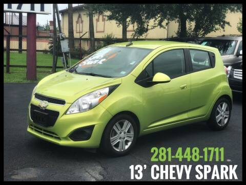 2013 Chevrolet Spark for sale at ASTRO MOTORS in Houston TX