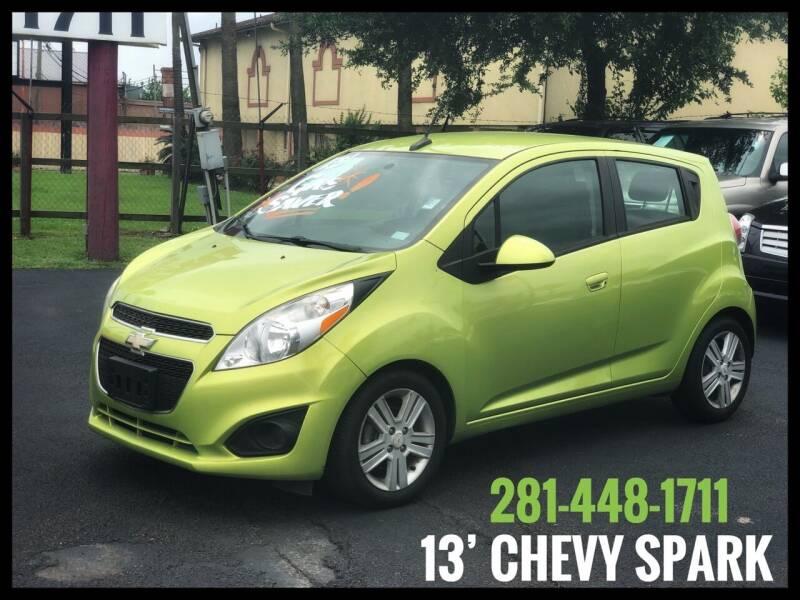 2013 Chevrolet Spark for sale at ASTRO MOTORS in Houston TX