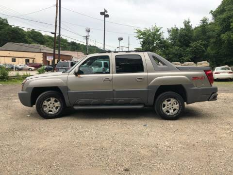 2002 Chevrolet Avalanche for sale at Compact Cars of Pittsburgh in Pittsburgh PA