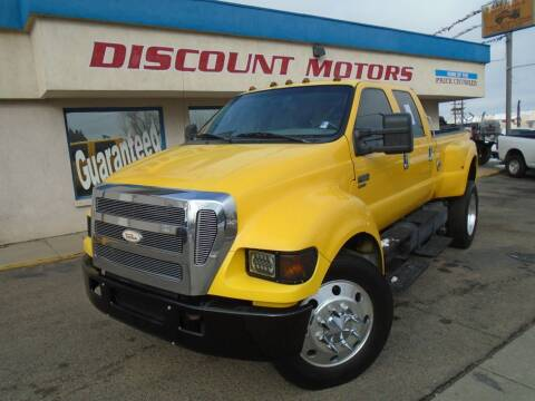 2005 Ford F-650 Super Duty for sale at Discount Motors in Pueblo CO