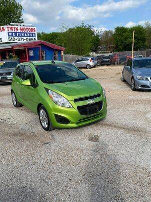 2015 Chevrolet Spark for sale at Twin Motors in Austin TX