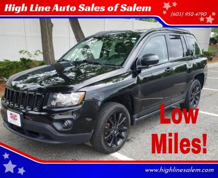 2012 Jeep Compass for sale at High Line Auto Sales of Salem in Salem NH