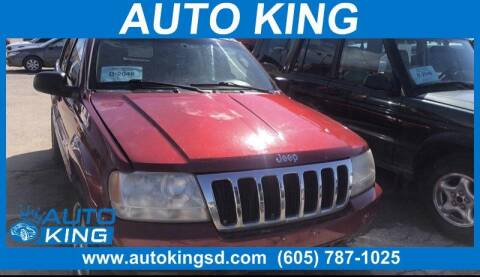 2002 Jeep Grand Cherokee for sale at Auto King in Rapid City SD