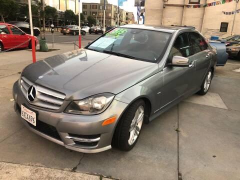 2012 Mercedes-Benz C-Class for sale at Excelsior Motors , Inc in San Francisco CA