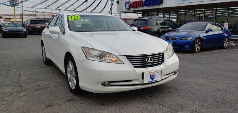 2008 Lexus ES 350 for sale at I-80 Auto Sales in Hazel Crest IL