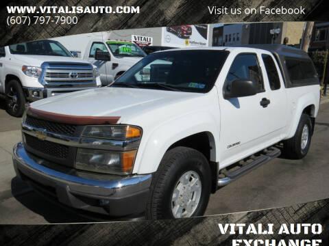 2005 Chevrolet Colorado for sale at VITALI AUTO EXCHANGE in Johnson City NY