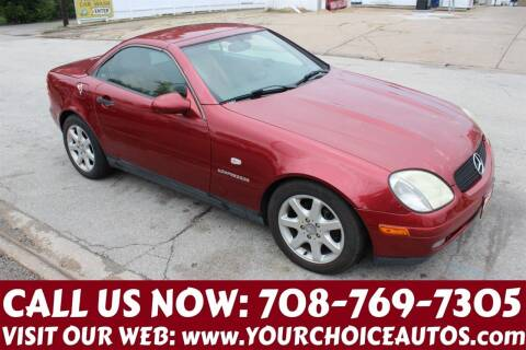 2000 Mercedes-Benz SLK for sale at Your Choice Autos in Posen IL