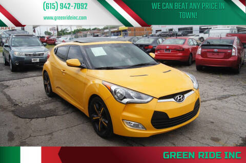 2012 Hyundai Veloster for sale at Green Ride Inc in Nashville TN