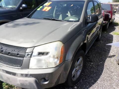 2005 Chevrolet Equinox for sale at SCOTT HARRISON MOTOR CO in Houston TX