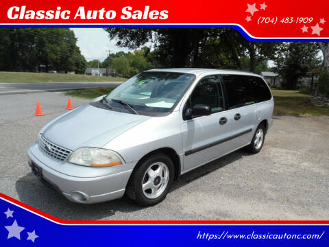 2003 Ford Windstar for sale at Classic Auto Sales in Maiden NC