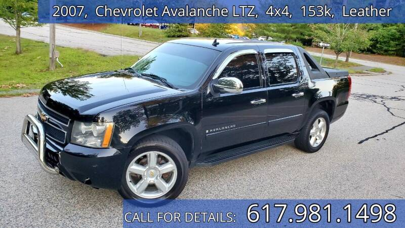 2007 Chevrolet Avalanche for sale at Wheeler Dealer Inc. in Acton MA
