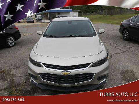 2016 Chevrolet Malibu for sale at Tubbs Auto LLC in Tuscaloosa AL
