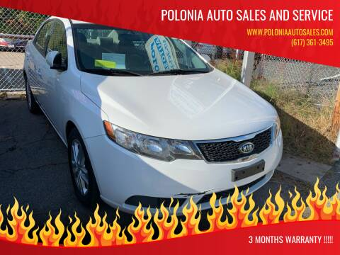 2011 Kia Forte for sale at Polonia Auto Sales and Service in Hyde Park MA