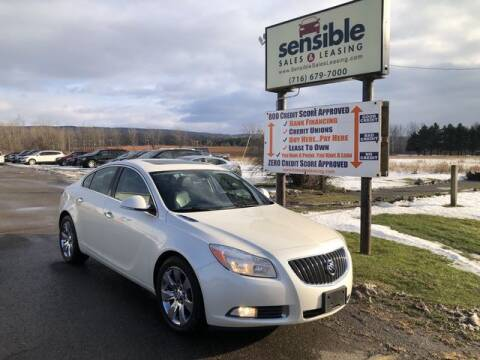 2013 Buick Regal for sale at Sensible Sales & Leasing in Fredonia NY