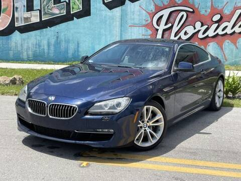2013 BMW 6 Series for sale at Palermo Motors in Hollywood FL