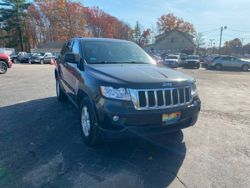 2012 Jeep Grand Cherokee for sale at Irving Auto Sales in Whitman MA