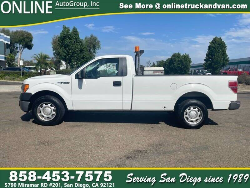 2013 Ford F-150 for sale at Online Auto Group Inc in San Diego CA