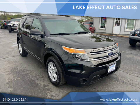 2013 Ford Explorer for sale at Lake Effect Auto Sales in Chardon OH
