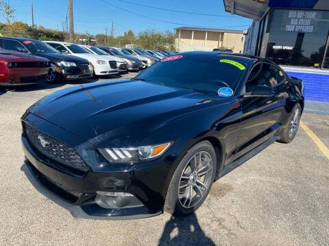 2016 Ford Mustang for sale at Cow Boys Auto Sales LLC in Garland TX