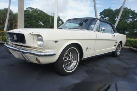 1966 Ford MUSTANG CONVERIBLE for sale at Dream Machines USA in Lantana FL