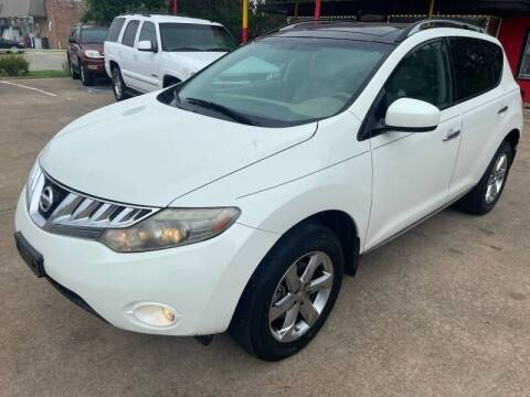 2010 Nissan Murano for sale at Texas Select Autos LLC in Mckinney TX
