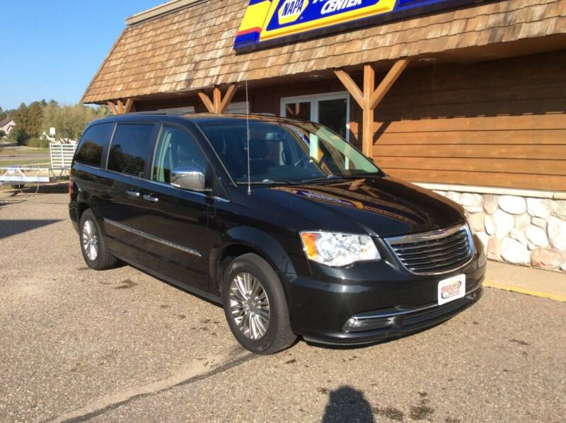 2016 Chrysler Town and Country for sale at MOTORS N MORE in Brainerd MN