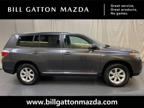 2013 Toyota Highlander for sale at Bill Gatton Used Cars - BILL GATTON ACURA MAZDA in Johnson City TN
