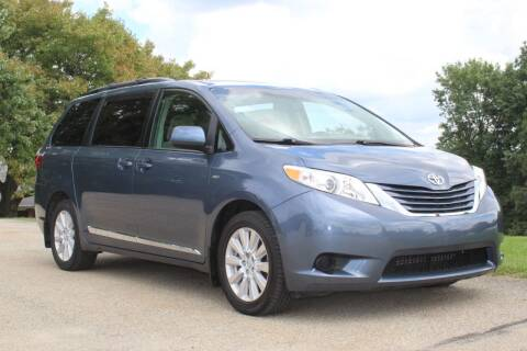 2017 Toyota Sienna for sale at Harrison Auto Sales in Irwin PA