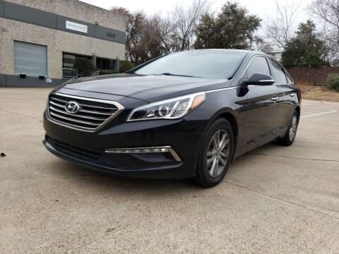 2015 Hyundai Sonata for sale at ZNM Motors in Irving TX