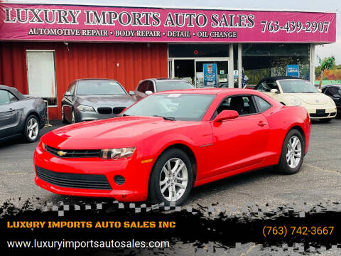 2015 Chevrolet Camaro for sale at LUXURY IMPORTS AUTO SALES INC in North Branch MN