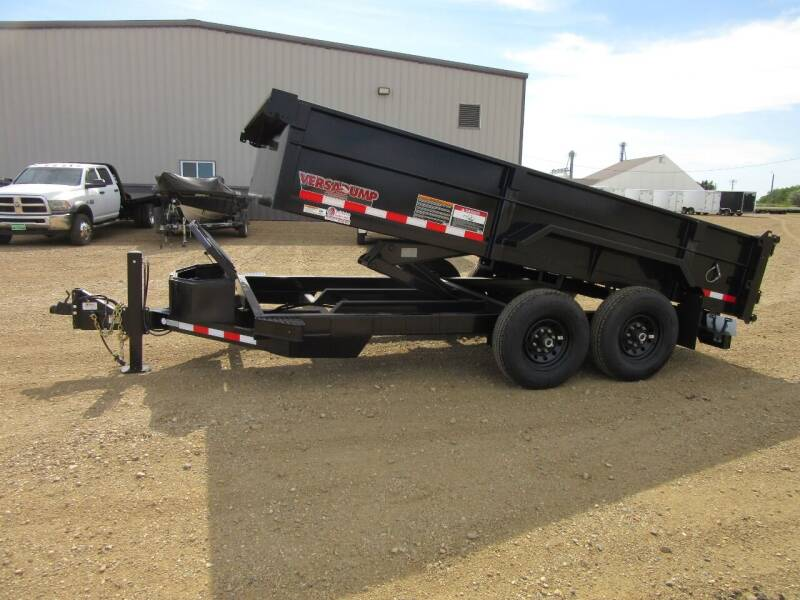 """2020 Midsota 82"""" x 14' for sale at Nore's Auto & Trailer Sales - Dump Trailers in Kenmare ND"""
