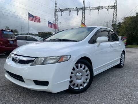 2009 Honda Civic for sale at Das Autohaus Quality Used Cars in Clearwater FL