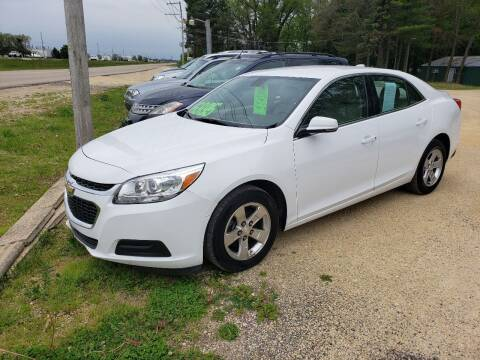 2016 Chevrolet Malibu Limited for sale at Northwoods Auto & Truck Sales in Machesney Park IL