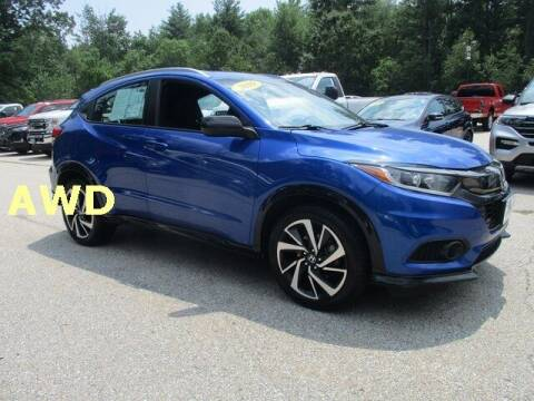2019 Honda HR-V for sale at MC FARLAND FORD in Exeter NH
