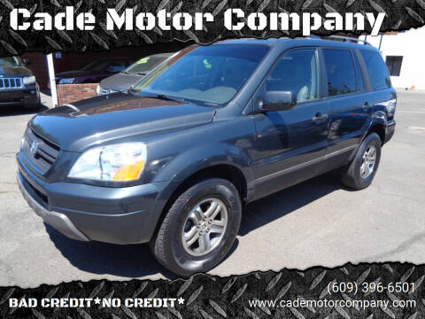 2004 Honda Pilot for sale at Cade Motor Company in Lawrenceville NJ