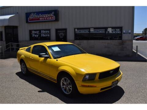 2005 Ford Mustang for sale at Chaparral Motors in Lubbock TX