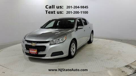 2016 Chevrolet Malibu Limited for sale at NJ State Auto Used Cars in Jersey City NJ
