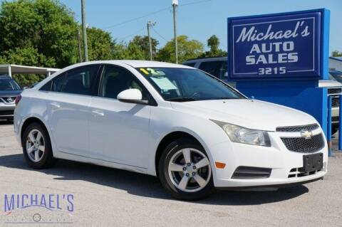 2012 Chevrolet Cruze for sale at Michael's Auto Sales Corp in Hollywood FL
