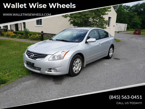 2012 Nissan Altima for sale at Wallet Wise Wheels in Montgomery NY