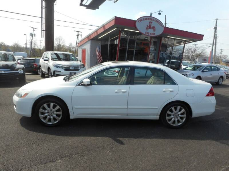 2007 Honda Accord for sale at The Carriage Company in Lancaster OH